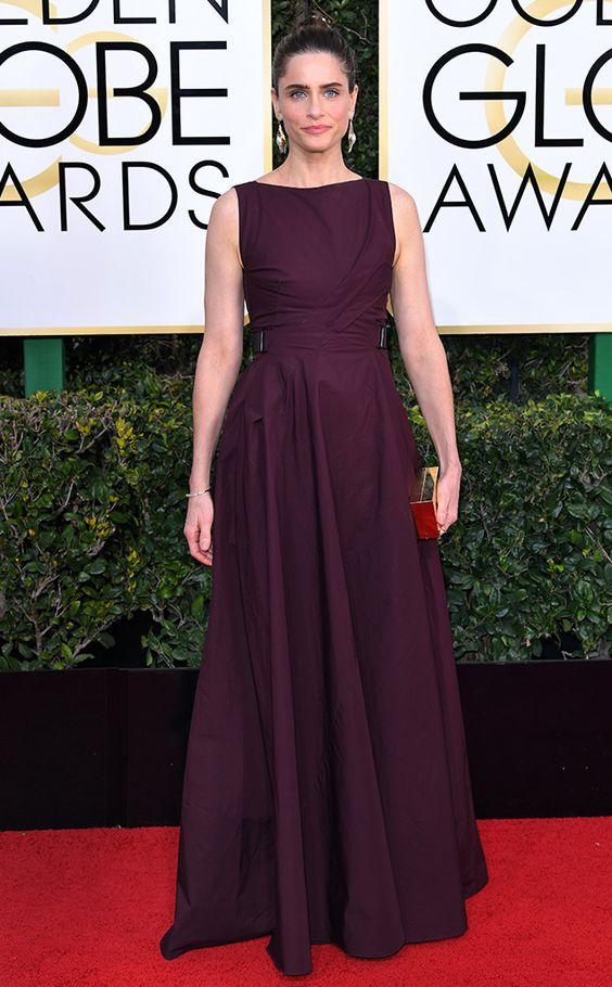 Amanda Peet Golden Globe Awards 2017