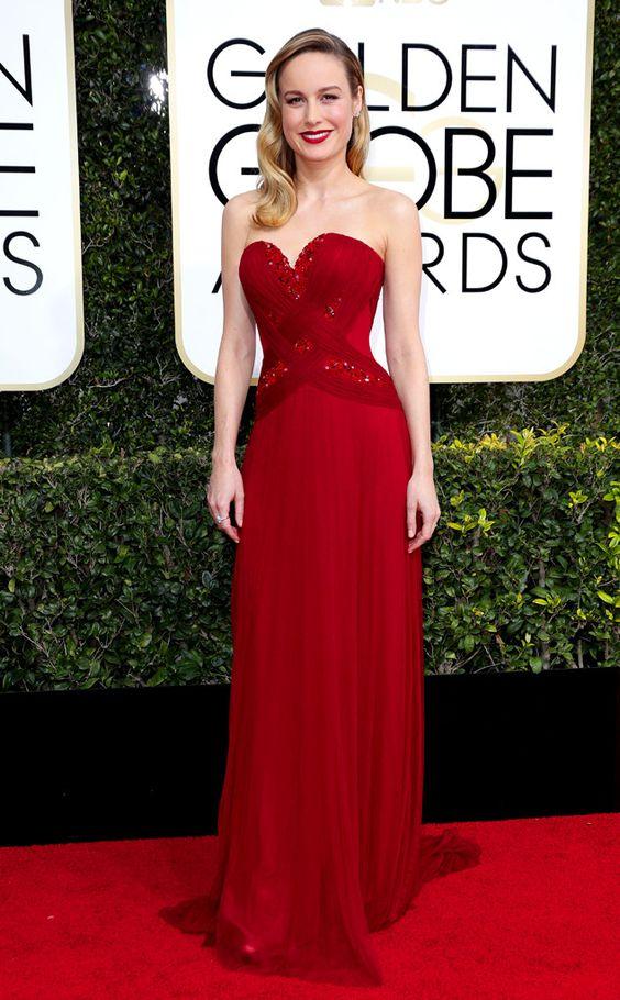 Brie Larson Golden Globe Awards 2017
