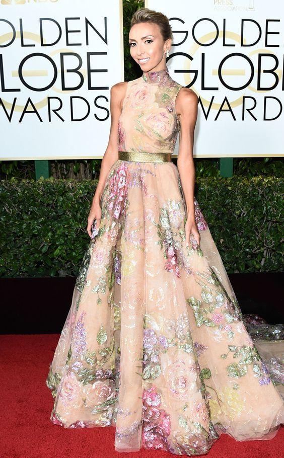 Giuliana Rancic Golden Globe Awards 2017