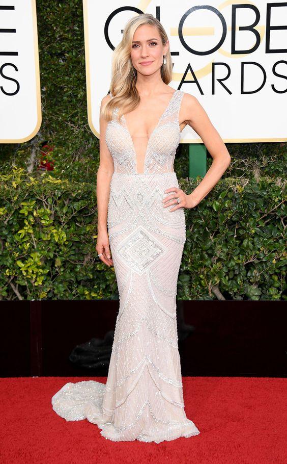Kristin Cavallari Golden Globe Awards 2017