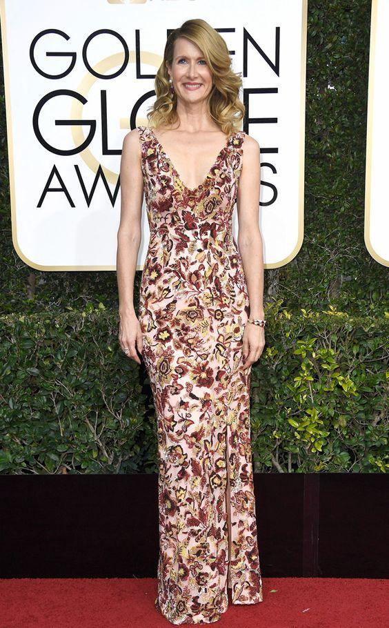 Laura Dern Golden Globe Awards 2017