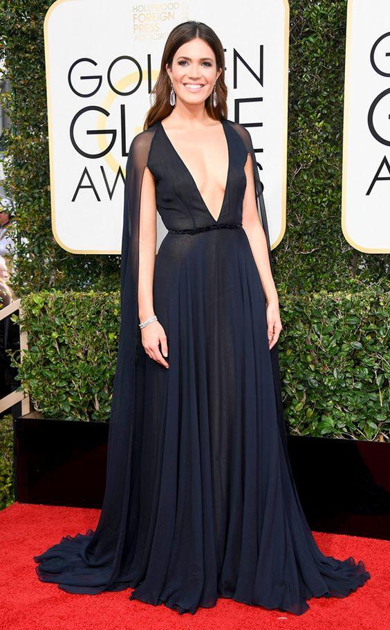 Mandy Moore Golden Globe Awards 2017