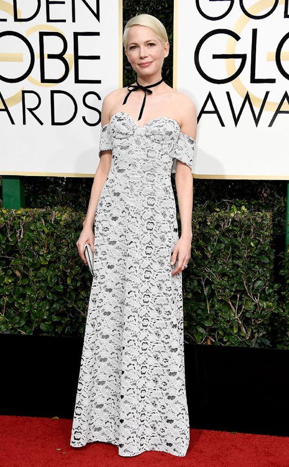 Michelle Williams Golden Globe Awards 2017