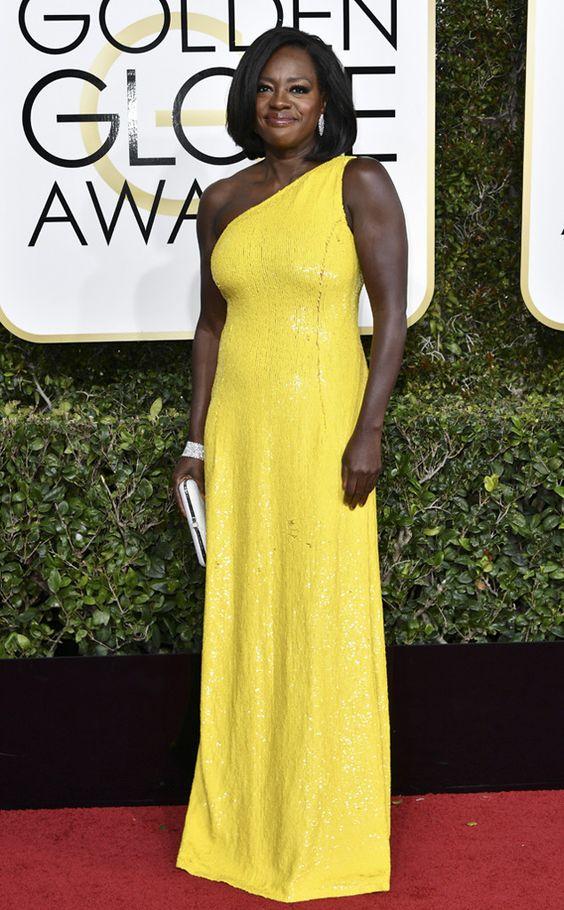 Viola Davis Golden Globe Awards 2017
