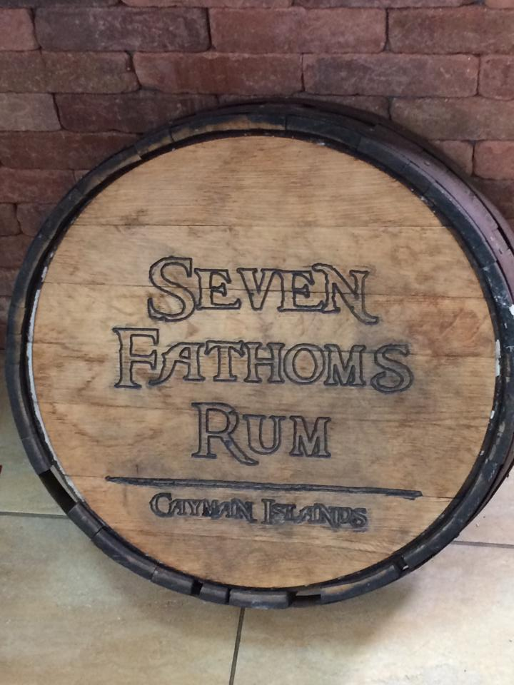 seven fathoms rum grand cayman