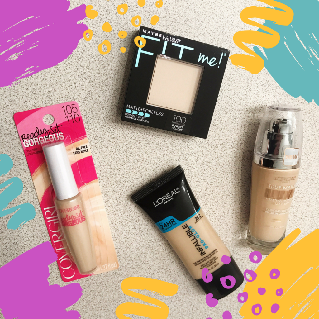 Drugstore Makeup First Impressions