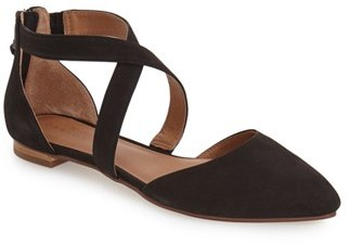 Women's Caslon 'Aubry' Pointy Toe Flat at Nordstrom