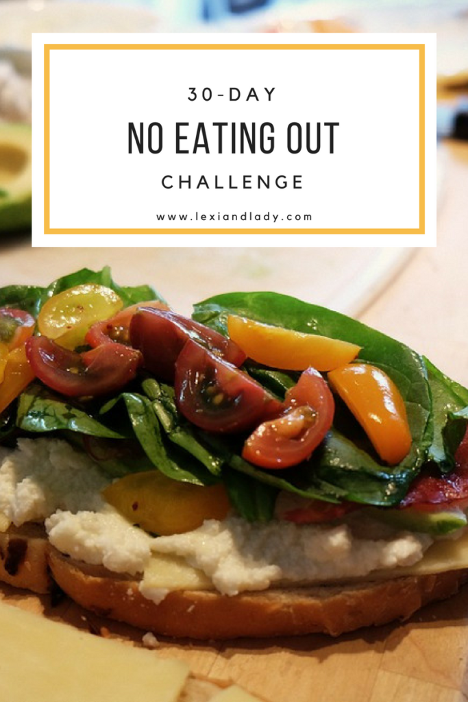 30-day no eating out challenge week 3