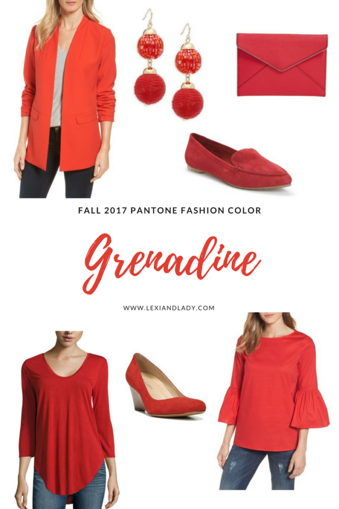 Fall 2017 Pantone Fashion Color Grenadine