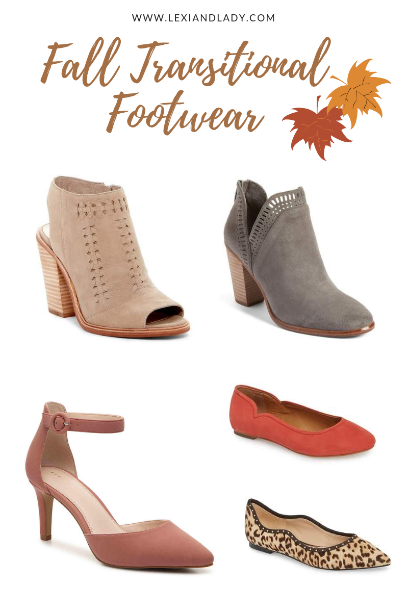 Fall Transitional Footwear | Lexi & Lady