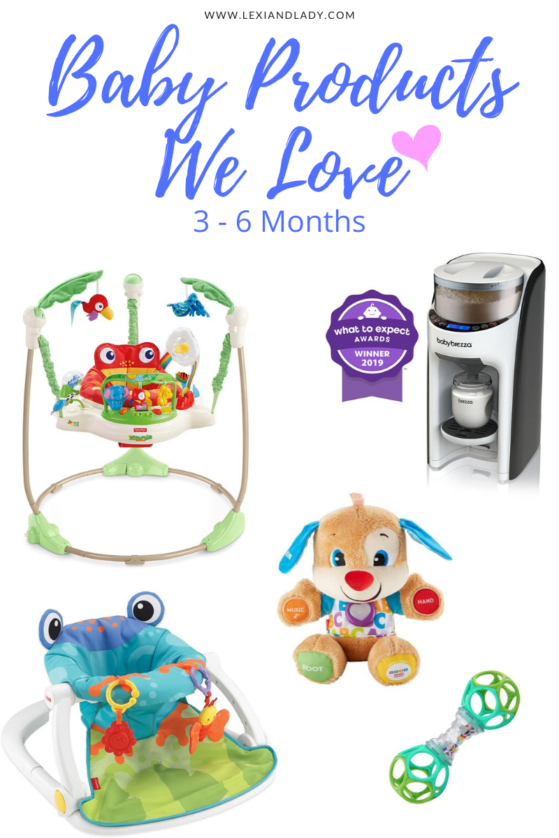 Baby Products We Love 3-6 Months