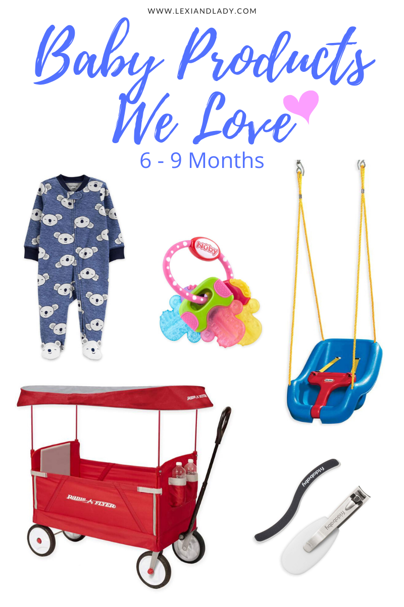 Baby Products We Love 6-9 Months
