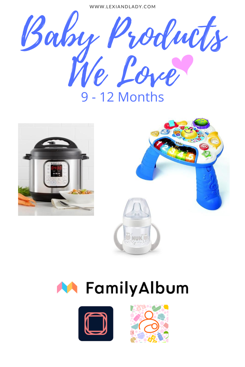 Baby Products We Love 9-12 Months | Lexi & Lady
